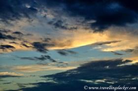 A Cloudy Evening…