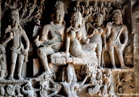 Stoned by the stones: Ellora Cave No. 10, 21, 29 and 32