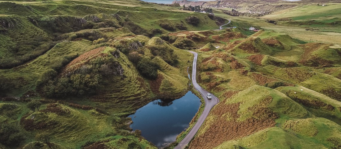 Isle of Skye Travel Blog: Fairy Glen