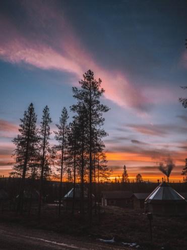 Northern Lights Village, Finland