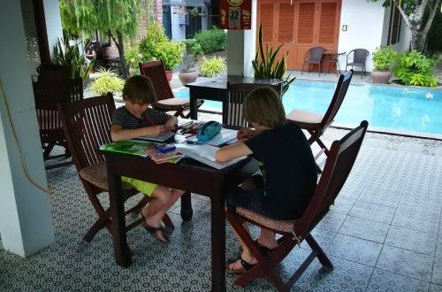 Reis met leerplichtig kind