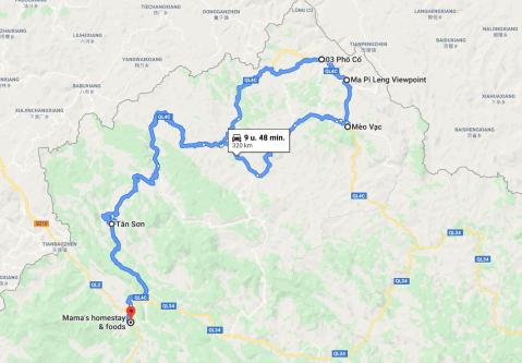 Korte route