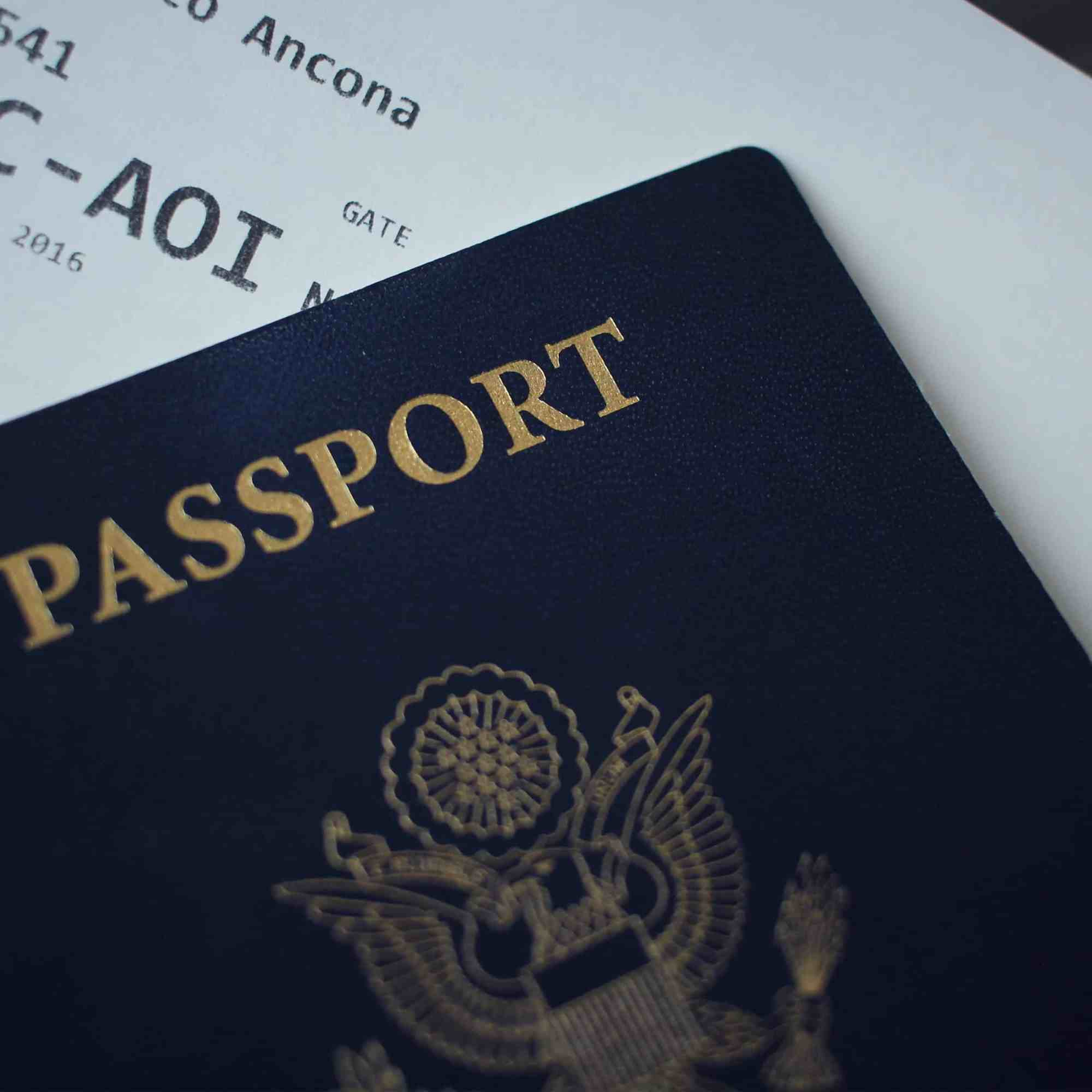 Check the validity on your passport