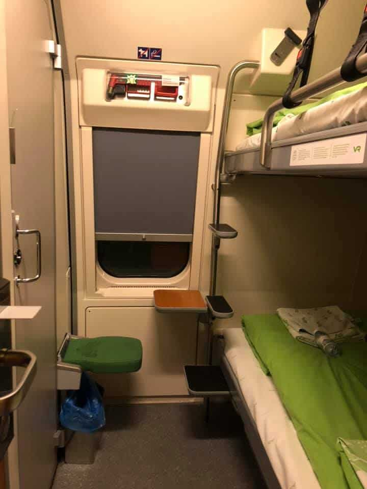Santa Claus Express - Compartment