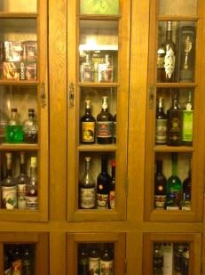 Collection of Absinth at Bon Bon Nuit