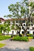 The Sukhothai courtyard
