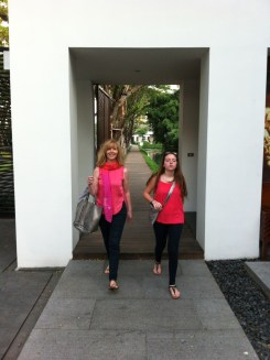 Leaving The Sukhothai to go out in Bangkok