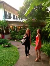 Arriving at Issaya Siamese Club