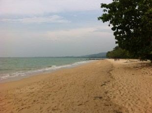 The beaches in Khao Lak are still natural