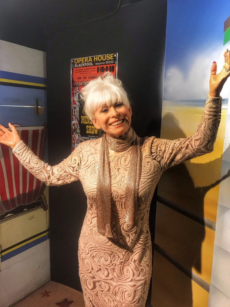 Barbara Windsor wax figure at Madame Tussauds Blackpool