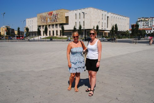 On Scanderbeg Square
