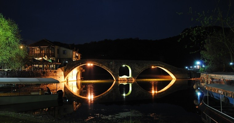 Driving from Dubrovnik to Rijeka Crnojevića