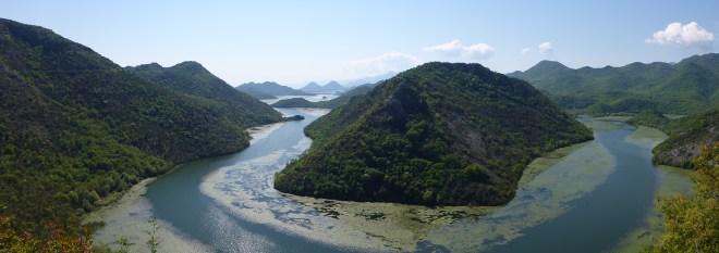 River to Shkodra Lake