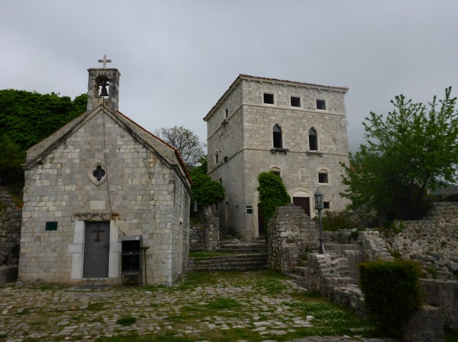 Old church in Stari Bar. If you wish to look around inside the supervisor will open for you.