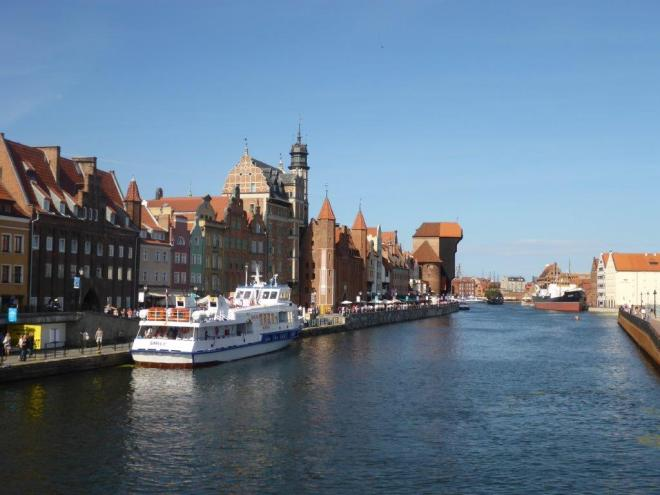 The old Hanseatic town Gdansk in Poland 6