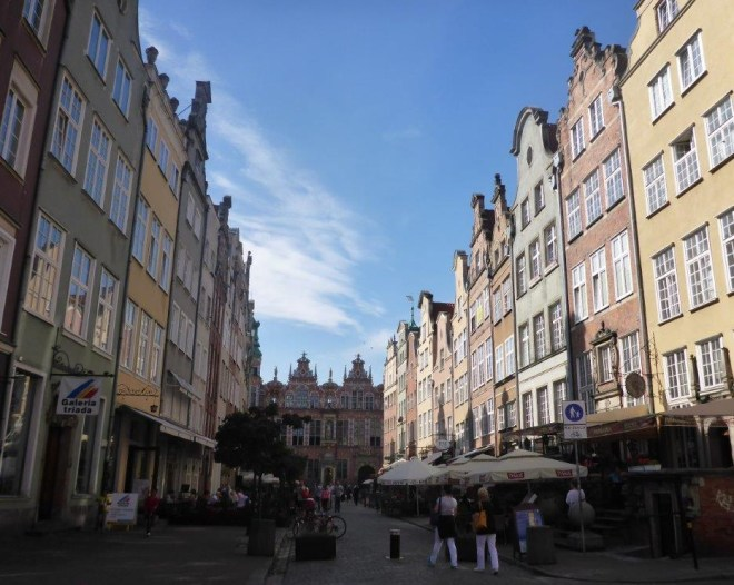The old Hanseatic town Gdansk in Poland 7