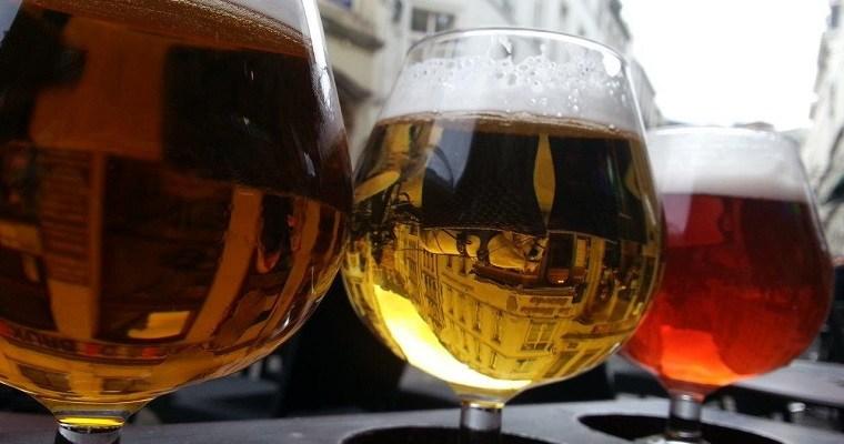 Belgian beer in Brussels
