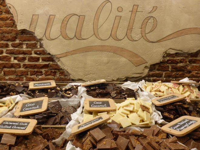 Belgian chocolate heaven in Brussels