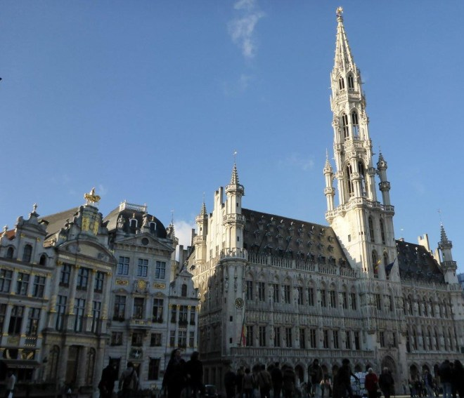 Grand Place in Brussels, Belgium3