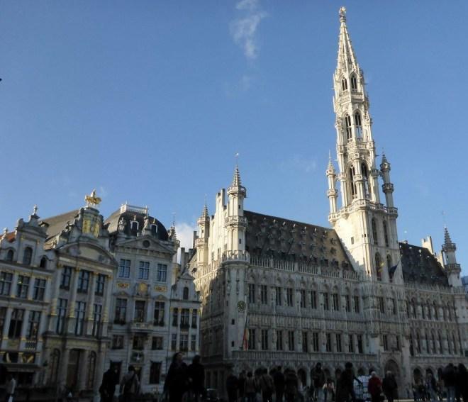Grand Place in Brussels, Belgium3