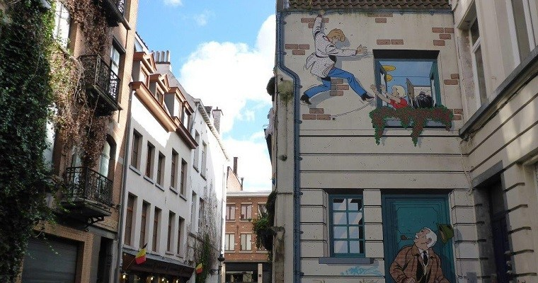 Comics in Brussels