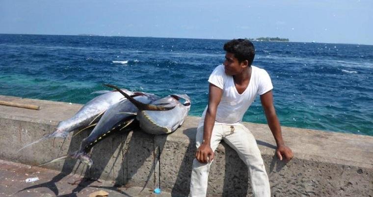 Stopover in Male, the Maldives