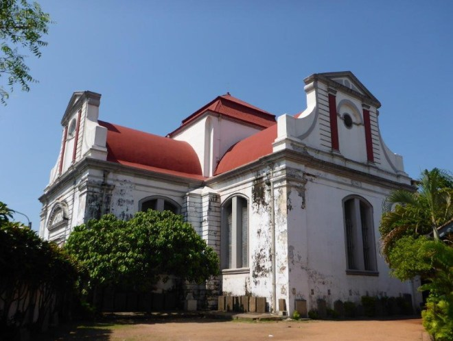 Wolvendaal church in Colombo