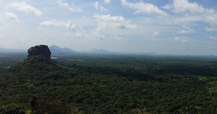 Skip Sigiriya Rock, hike Pidurangala Rock instead!