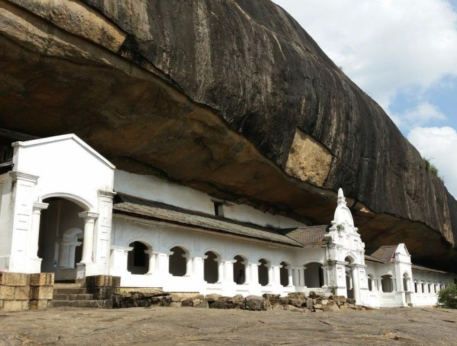 The Rock Temple of Dambulla 2