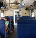 3rd class on the train from Kandy to Hatton.