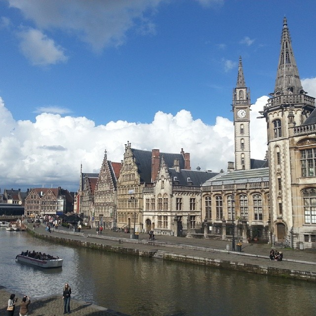 Beautiful Ghent in Belgium