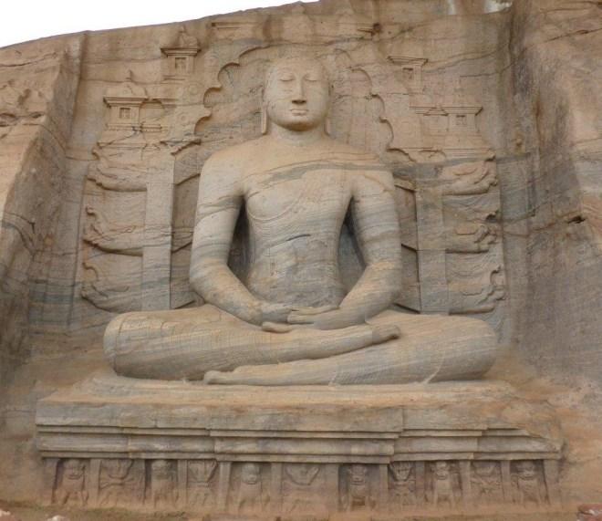 Gal Viharaya in Polonnaruwa 3