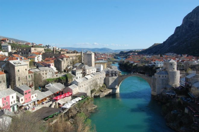Mostar in Bosnia and Herzegovina
