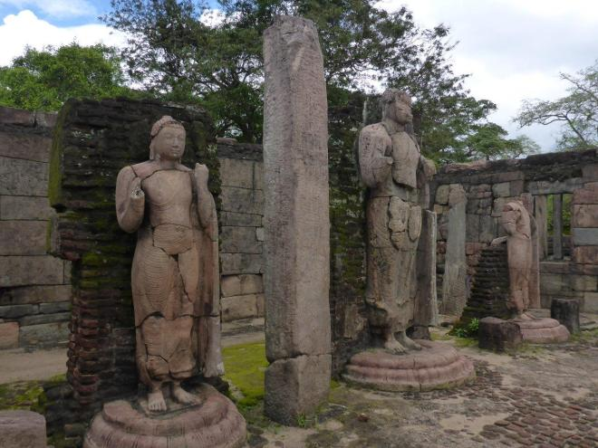 The sacred Quadrangle in Polonnaruwa 2