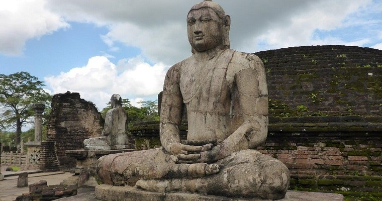 The ancient city of Polonnaruwa