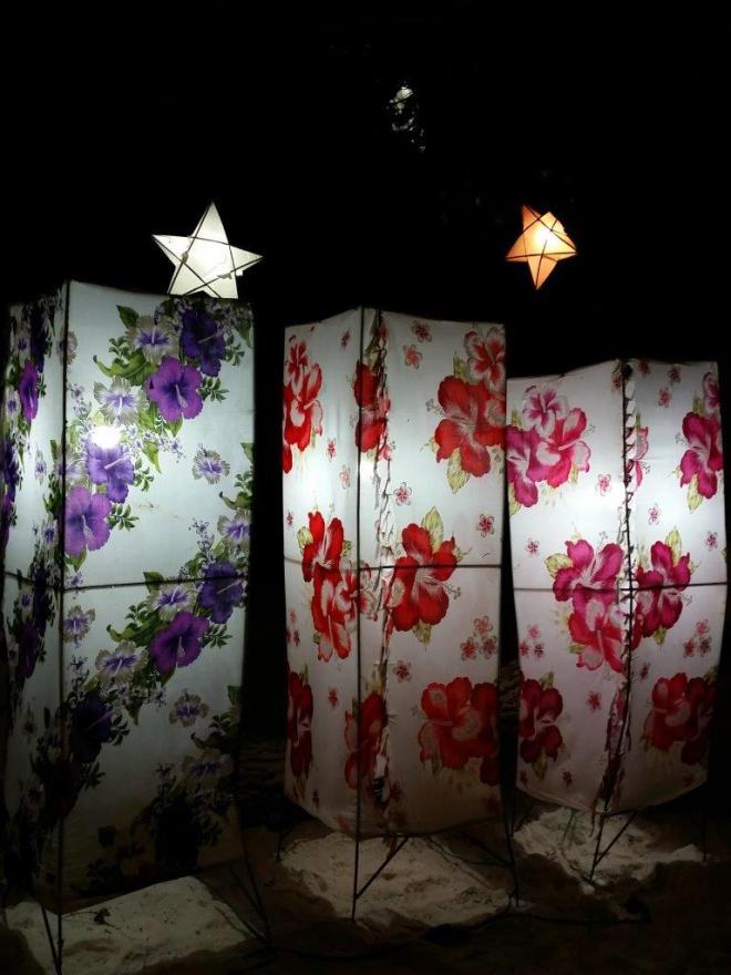 Lights at Jep's on Koh Samet