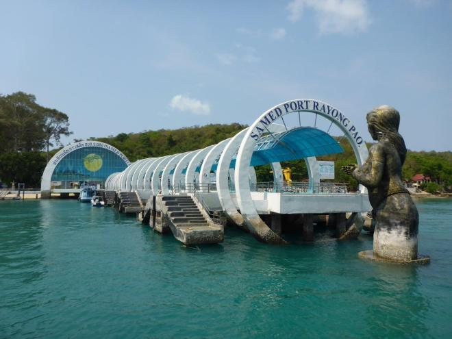 The main pier on Koh Samet