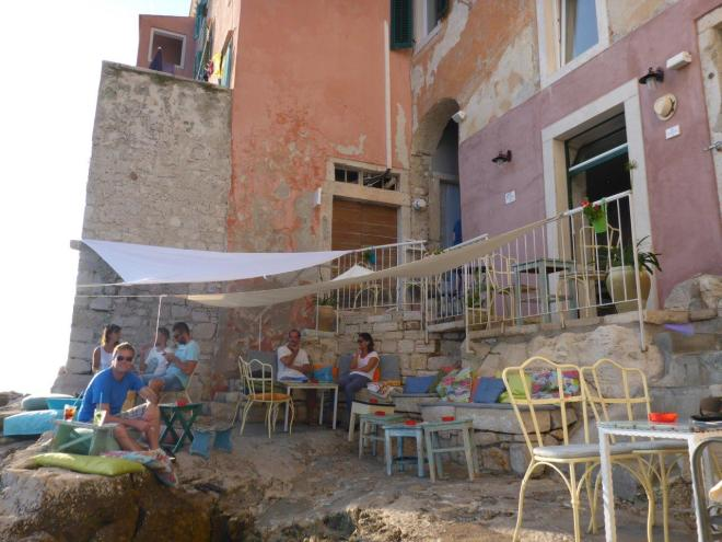 Mediterraneo Bar in Rovinj, Croatia