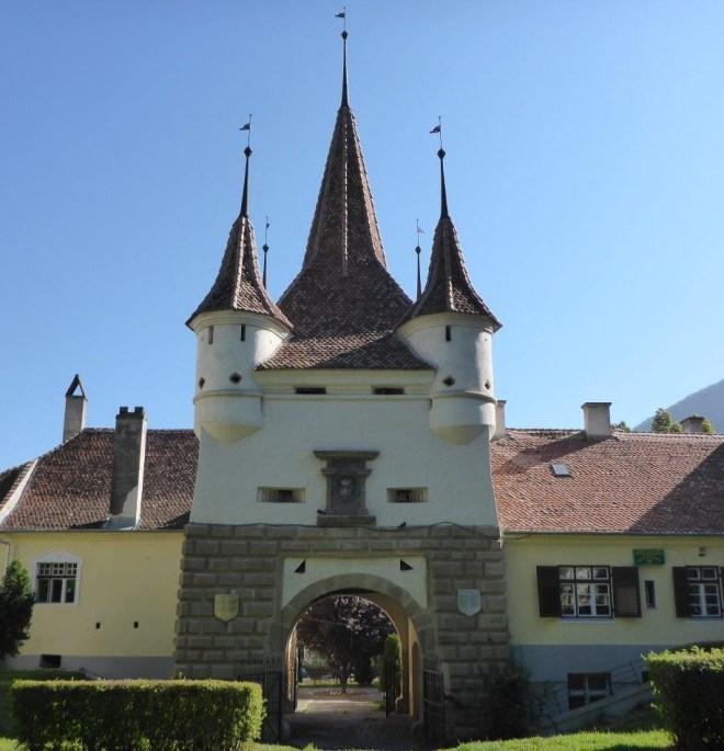 Katerina's gate in Brasov