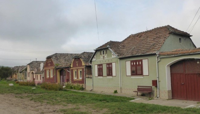 Typical village along the way