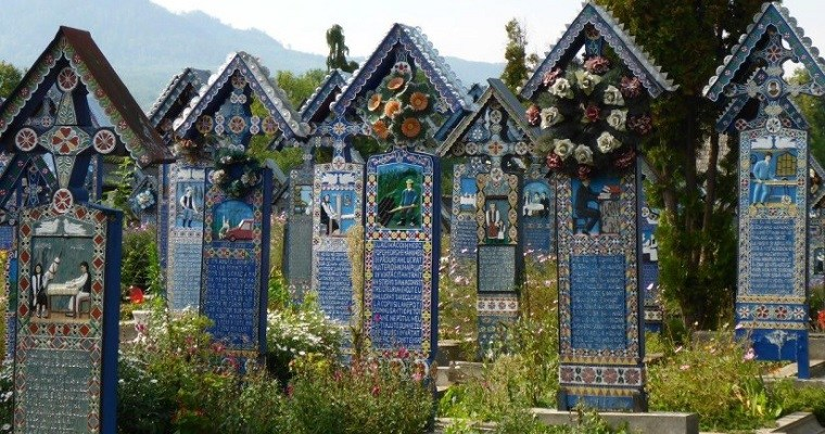 The Merry Cemetery in Sapanta