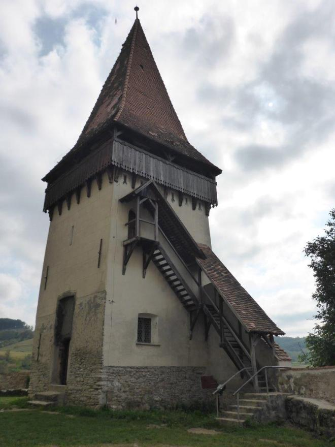 One of the towers of Biertan fortified church