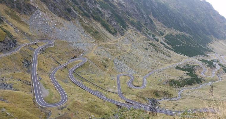 Driving the Transfagarasan Highway, a spectacular experience!