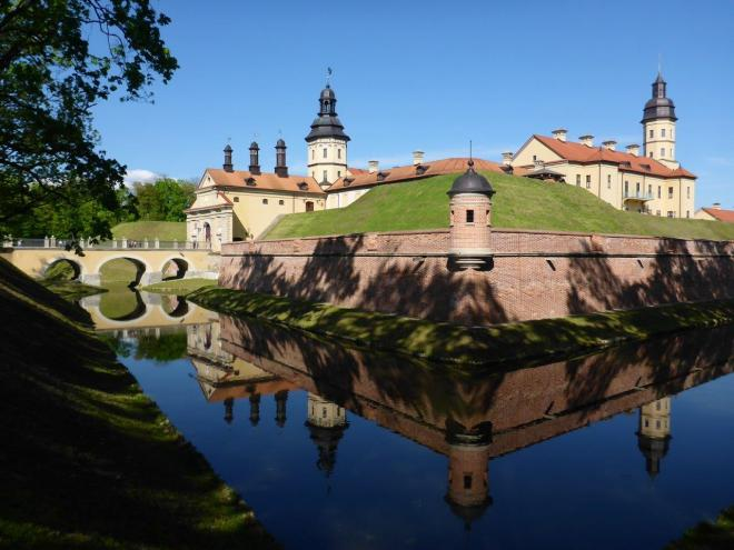 Niasvizh palace in Belarus