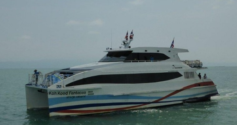 Trat – the starting point to go to Koh Kut/Koh Kood