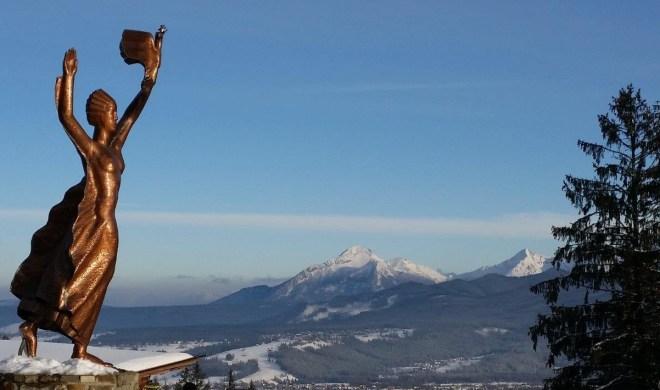 The view from Gubalowka. Zakopane, Poland