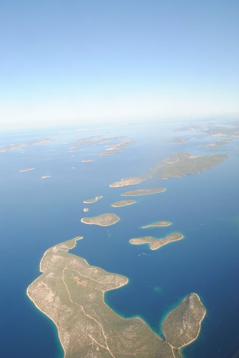 The Cornati Islands in Croatia