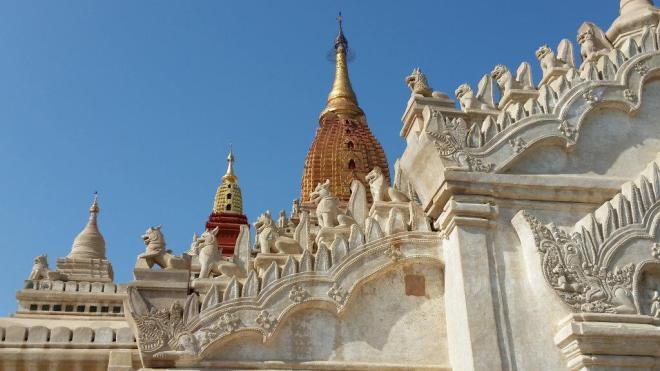 Roof of Ananda Phaya, Bagan, Myanmar