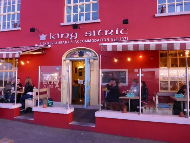 King Sitric restaurant in Howth outside Dublin, Ireland