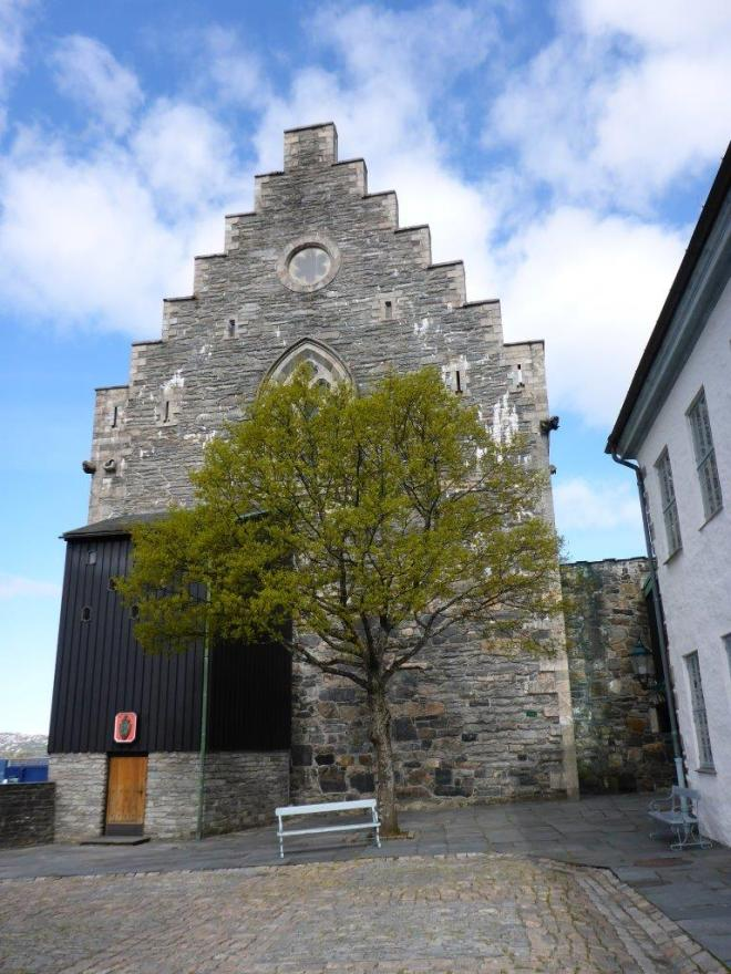 The Håkon's Hall. Bergen, Norway
